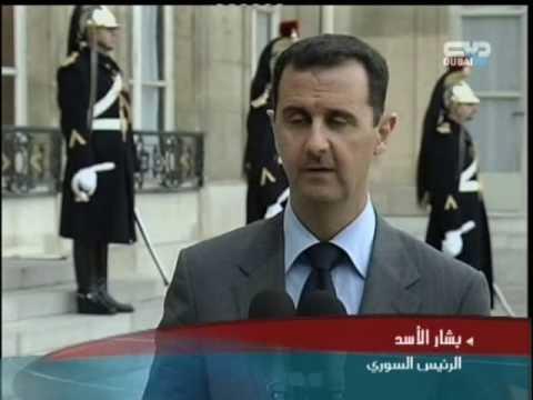 في باريس بشار الأسد يدير ظهره لنتنياهو