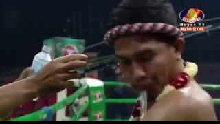 Chan Bunhoeun, Cambodia Vs Yodpayak, Thai, Khmer Boxing 7 october 2018