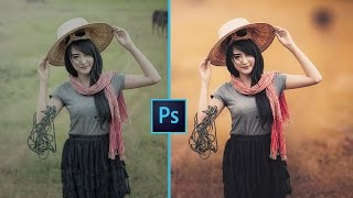 Photoshop CC - How I Edit Outdoor Portrait - Easy & Fast ❤ - In Hindi
