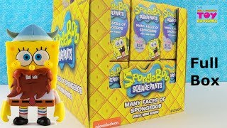 Spongebob Squarepants Many Faces Of Vinyl Figure Series Unboxing | PSToyReviews