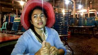 Cambodia Nightlife, NIght Food Massage At Sihanoukville O Chheu Teal Beach