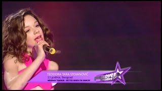 Teodora-Tara Stojanović (COVER Better When I'm Dancing)