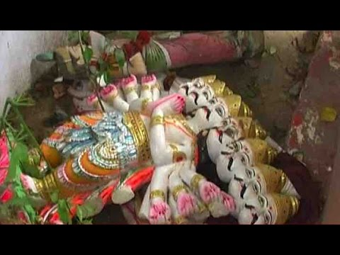 Xxx Mp4 Ravana Idol Vandalised In Greater Noida Village Case Against Hindu Organisations 3gp Sex