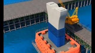 Padma Bridge construction process