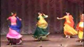 Kavitt in Indian Classical dance Kathak Tarang Moscow Russia