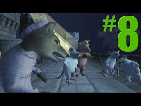 Shrek 2 Game Walkthrough Part 8 Prison Break No Commentary Gameplay Gamecube Xbox PS2