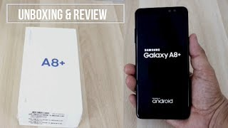 Hindi | Samsung Galaxy A8 Plus(2018) Unboxing And Review