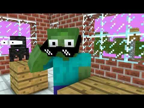 Monster School Escola De Monstros: Desafio De Jogo De Hospital De Horror - Animação De Minecraft