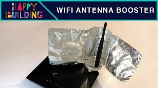 How to make a WiFi Antenna Booster! Happy Building!