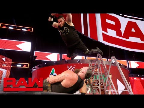 Braun Strowman vs. Finn Bálor vs. Bobby Roode vs. Kevin Owens - Fatal 4-Way: Raw, June 11, 2018
