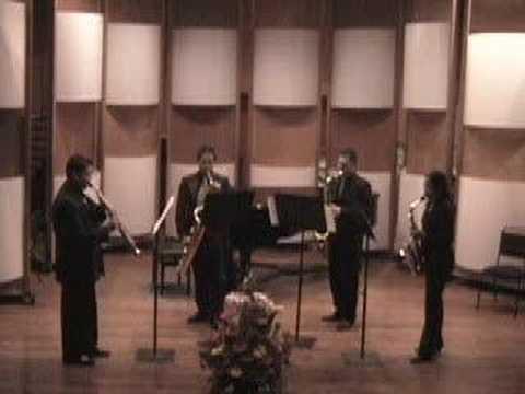 Arturo Marquez Danzon No. 5 for Saxophone Quartet