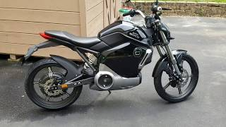 Super Soco TS1200R Electric Motorcycle Overview