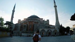 Visiting Hagia Sophia, Istanbul Turkey