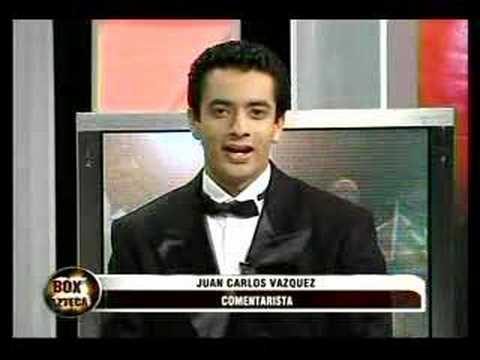 Paco González y Marbella Valencia en Box Azteca