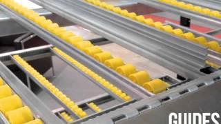 rack dynamique dr20 tube galet rouleau fifo lifo