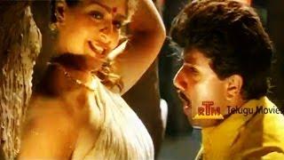 Sastri Telugu Movie Song - Nagma Rain Song - Ompu Sompulu Choosane