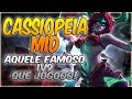 Download Video Download AQUELE FAMOSO JOGO 1V9, QUE GAMEPLAY BRABA! - CASSIOPEIA MID - GAMEPLAY 3GP MP4 FLV