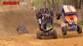 4 WIDE ROCK BOUNCER KNOCKOUT RACING IS INSANE