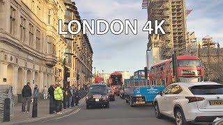 London Drive 4K - England - UK