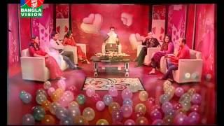 Valentine Day program : bhalobashay bhalobasha. by shamim shahed, Head of program, Banglavision