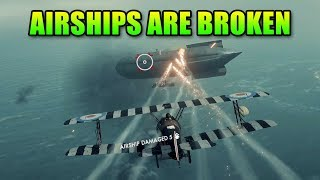 Airships Are Broken - Battlefield 1 Squad Up Gameplay