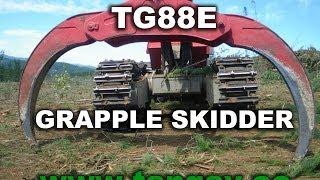 TG88E Grapple Skidder Biofo Chile November 2013