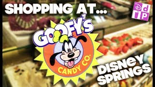 SHOPPING AT - GOOFY'S CANDY CO - DISNEY SPRINGS - DISNEY DINING PLAN
