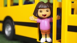 Dora the Explorer Toys 🎒 Dora takes the bus with her friends