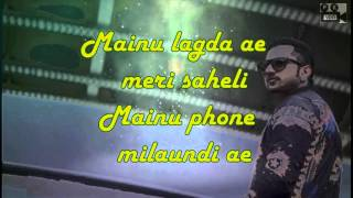 Call Aundi Lyrical Song | ZORAWAR | Yo Yo Honey Singh