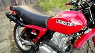 FOR SALE: Honda XL 500 s 1981 in Red