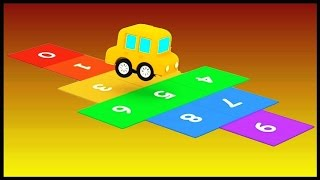 MAGIC NUMBERS! Cartoon Cars Videos for Kids.Cartoons for Children. Kids Cars Cartoons.Kids Animation
