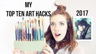Top 10 Artist Hacks & Tips