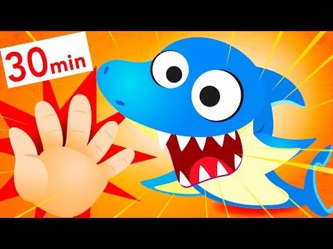 Finger Family Baby Shark Kids Songs by Little Angel