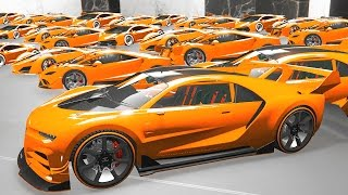 $100,000,000 WORLD'S MOST EXPENSIVE CAR GARAGE! (GTA 5 Funny Moments)