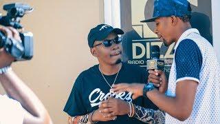 REDMARK Interview Na DIZZIM ONLINE TEASER HAKUNA ANAYENIWEZA BONGO KWA TRAP