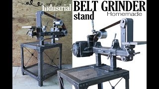 Diy BELT GRINDER industrial stand
