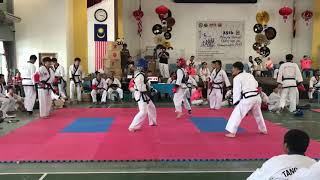 Tang Soo Do National 2018- Jordy Chai vs Andy Lawai