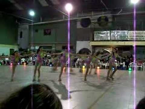 Patín artístico show 2007 El Ideal