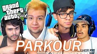 GTA V Online: PARKOUR MULTI FACECAM ft. ZEAL, AUGUXTO e DIOGO!!!