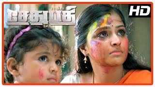 Sethupathi Tamil Movie | Scenes | Vijay Sethupathi beats Vivek Prasanna | Vela Ramamoorthy | Remya