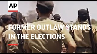 INDIA: FORMER OUTLAW STANDS IN THE ELECTIONS