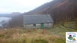 Wild camping and bushcraft scotland doune byre bothy loch lomond  glencoe and lost valley