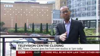 BBC News Channel - The last moments at BBC Television Centre