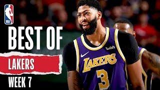 Lakers FULL HIGHLIGHTS | Week 7 | 2019-20 NBA Season