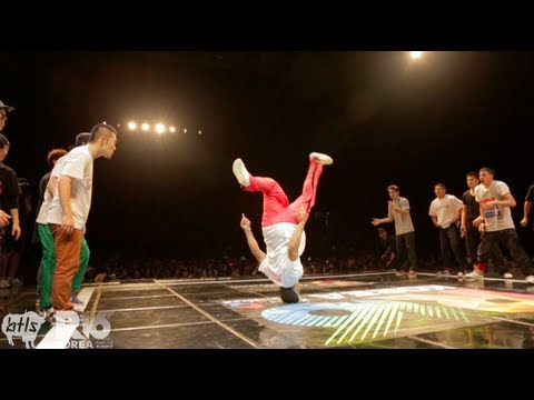Massive Monkees vs Jinjo Crew R16 BBOY Battle 2012 YAK FILMS