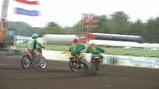 EK MOTOBALL 2001; Wit Rusland  -  Litouwen, manche 3 & 4.