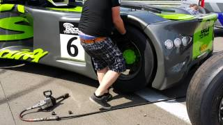 Becx-TDS Racing Demo drift at Truck Grand Prix Nurburgring 2014