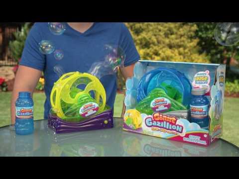 Gazillion GIANT BUBBLE MILL BUBBLE MACHINE- How to video