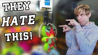 Claw Machine Owners HATE Me for This 1 Simple Trick!