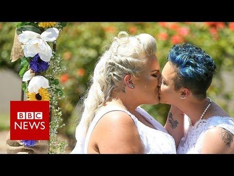 Xxx Mp4 Australia S First Same Sex Wedding Takes Place BBC News 3gp Sex